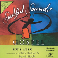 He's Able, Accompaniment CD   -     By: Deitrick Haddon