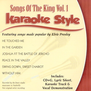 Songs Of The King, Volume 1, Karaoke Style CD   -