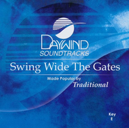 Swing Wide The Gates, Accompaniment CD   -