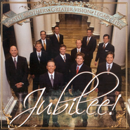 Jubilee CD   -     By: The Booth Brothers, Greater Vision, Legacy Five