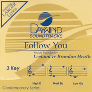Follow You, Accompaniment CD   -              By: Leeland Heath, Brandon Heath