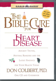 The Bible Cure for Heart Disease: Ancient Truths, Natural Remedies and the Latest Findings for Your Health Today - Unabridged Audiobook  [Download] -              Narrated By: Greg Wheatley                   By: Don Colbert