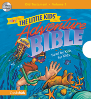 NIrV Little Kids Adventure Audio Bible Vol 1 - Unabridged Audiobook  [Download] -