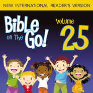 Bible on the Go Vol. 25: The Story of Job (Job 1-5, 8, 11, 27, 38, 40, 42) - Unabridged Audiobook  [Download] -