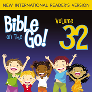 Bible on the Go Vol. 32: Daniel and the Fiery Furnance, Writing on the Wall, and the Lion's Den (Daniel 3, 5, 6) - Unabridged Audiobook  [Download] -