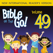 Bible on the Go Vol. 49: Letters of John; Jude; Revelation (1 John 3; 3 John; Jude; Revelation 1-2, 4, 19) - Unabridged Audiobook  [Download] -