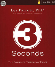 3 Seconds: The Power of Thinking Twice - Unabridged Audiobook  [Download] -     By: Les Parrott III