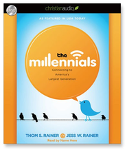The Millennials: Connecting to America's Largest Generation - Unabridged Audiobook  [Download] -     Narrated By: Ray Porter     By: Thom S. Rainer, Jess Rainer