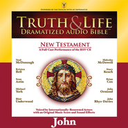 Truth and Life Dramatized Audio Bible New Testament: John - Unabridged Audiobook  [Download] -              Narrated By: Neal McDonough, Kristen Bell                   By: Neal McDonough(NARR), Kristen Bell(NARR) & Sean Astin(NARR)