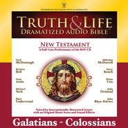 Truth and Life Dramatized Audio Bible New Testament: Galatians, Ephesians, Philippians, and Colossians - Unabridged Audiobook  [Download] -     Narrated By: Neal McDonough, Kristen Bell     By: Neal McDonough(NARR), Kristen Bell(NARR) & Sean Astin(NARR)