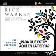 Una vida con propsito Audiobook  [Download] -     By: Rick Warren