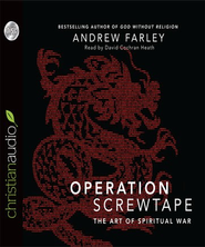 Operation Screwtape: The Art of Spiritual War - Unabridged Audiobook  [Download] -     By: Andrew Farley