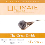 The Great Divide - High key performance track w/ background vocals  [Music Download] -     By: Point of Grace