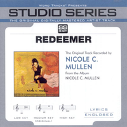 Redeemer - Medium key performance track w/ background vocals [Original key]  [Music Download] -     By: Nicole C. Mullen