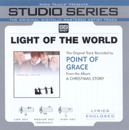 Light Of The World - High key performance track w/o background vocals  [Music Download] -     By: Point of Grace