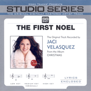 The First Noel - Low key performance track w/o background vocals  [Music Download] -     By: Jaci Velasquez