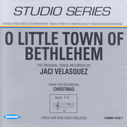 O Little Town Of Bethlehem - High key performance track w/o background vocals  [Music Download] -     By: Jaci Velasquez