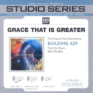 Grace That Is Greater - Low Key w/o Background Vocals  [Music Download] -     By: Building 429