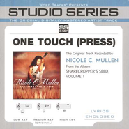 One Touch [Press] - Original Key w/ Background Vocals  [Music Download] -     By: Nicole C. Mullen
