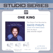 One King - High Key w/o Background Vocals  [Music Download] -     By: David Phelps