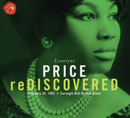 Leontyne Price Rediscovered Carnegie Hall Recital  [Music Download] -     By: Leontyne Price
