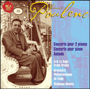 Poulenc: Two Pianos And Piano Concertos, Aubade  [Music Download] -     By: Eric le Sage, Frank Braley, Orchestre Philharmonique de Liege