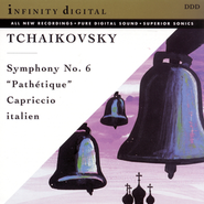 "Tchaikovsky: Symphony No.6 ""Pathetique""; Capriccio Italien  [Music Download] -     By: The Georgian Festival Orchestra, Jahni Mardjani"