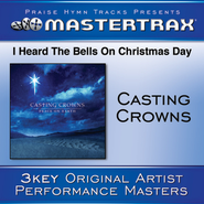 I Heard The Bells On Christmas Day (Medium without background vocals)  [Music Download] -     By: Casting Crowns