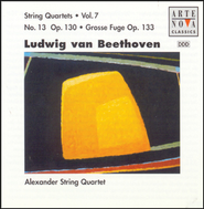 String Quartet No. 13 in B flat major, Op. 130: Andante con moto ma non troppo  [Music Download] -     By: Alexander String Quartet