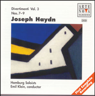 Haydn: Divertimenti Vol. 3  [Music Download] -     By: Emil Klein