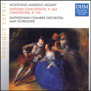 Mozart: Sinfonia Concertante  [Music Download] -     By: Smithsonian Chamber Orchestra