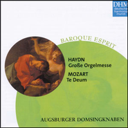 Haydn, Mozart: Grosse Orgelmesse/Te Deum  [Music Download] -     By: Augsburger Domsingknaben