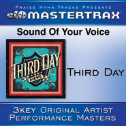 Sound Of Your Voice (Medium Without Background Vocals)  [Music Download] -     By: Third Day