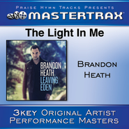 The Light In Me [Performance Tracks]  [Music Download] -     By: Brandon Heath