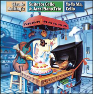 Suite for Cello and Jazz Piano Trio: Cello Fan  [Music Download] -     By: Claude Bolling, Yo-Yo Ma