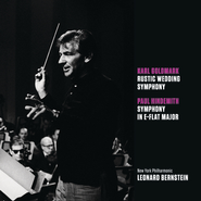 Goldmark: Rustic Wedding Symphony, op. 26; Hindemith: Symphony in E-flat major  [Music Download] -     By: Leonard Bernstein