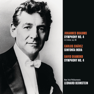 Brahms: Symphony No. 4 in E minor, op. 98; Chavez: Sinfonia India (Symphony No. 2); Diamond: Symphony No. 4  [Music Download] -     By: Leonard Bernstein, New York Philharmonic