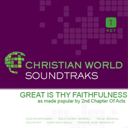 Great Is Thy Faithfulness  [Music Download] -              By: 2nd Chapter of Acts