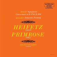 Mozart: Sinfonia concertante in E-Flat, K.364, Benjamin: Romantic Fantasy  [Music Download] -     By: Jascha Heifetz