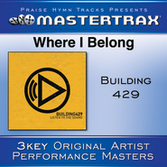 Where I Belong [Performance Tracks]  [Music Download] -     By: Building 429