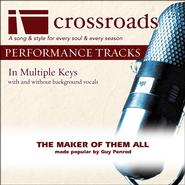 The Maker Of Them All (Made Popular By Guy Penrod) (Performance Track)  [Music Download] -