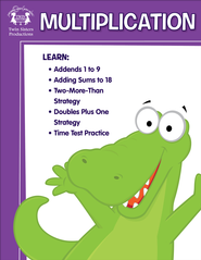 Multiplication Activity Book & Digital Album Download  [Music Download] -