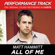 All of Me (Medium Key Performance Track With Background Vocals)  [Music Download] -              By: Matt Hammitt