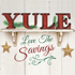 Yuletide Savings