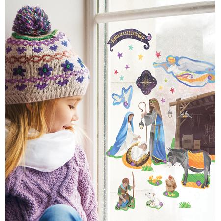 Advent Calendar Window Clings
