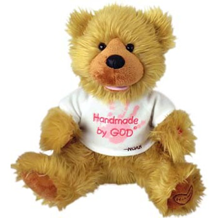 Religious talking Plush teddy bear