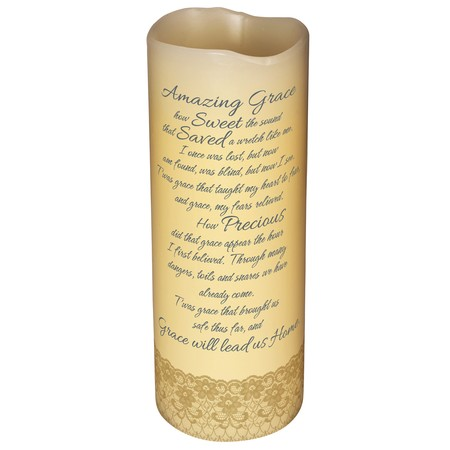 Amazing Grace gifts LED Candle