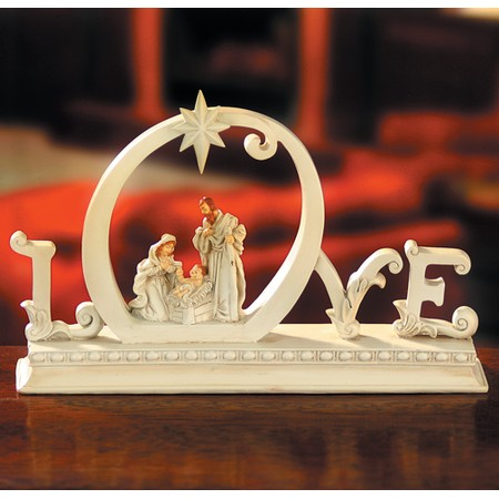 Love Came Down--Lighted Nativity Figure - - Christianbook.com