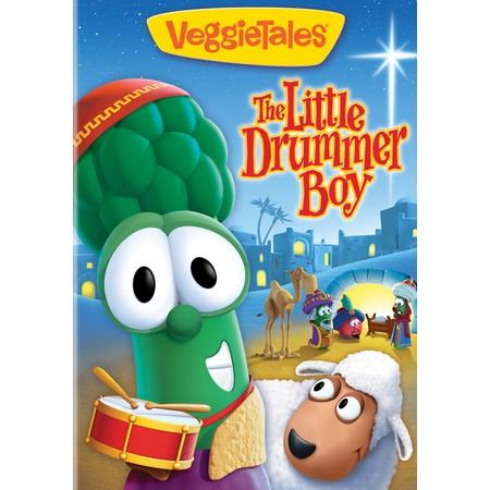 VeggieTales Drummer boy cartoon