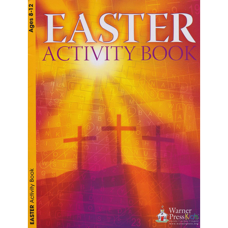 Christian Easter activity book for kids